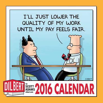 Dilbert 2016 Mini Wall Calendar