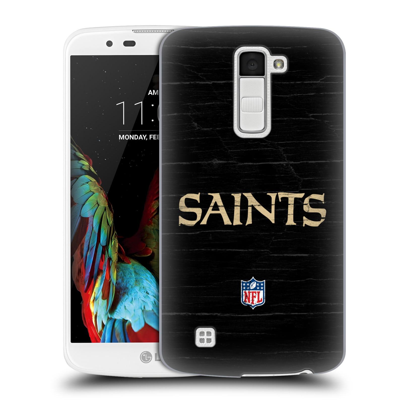 OFFICIAL NFL NEW ORLEANS SAINTS LOGO HARD BACK CASE FOR LG PHONES 3
