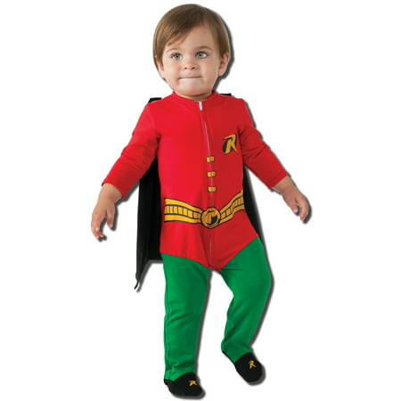 Infant size Superhero Robin Costume - 2 sizes - Batman](Superhero Infant Costume)