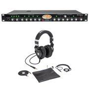 Presonus Studio Channel Recording Vacuum Tube Mic Pre+Samson Lambskin Headphones
