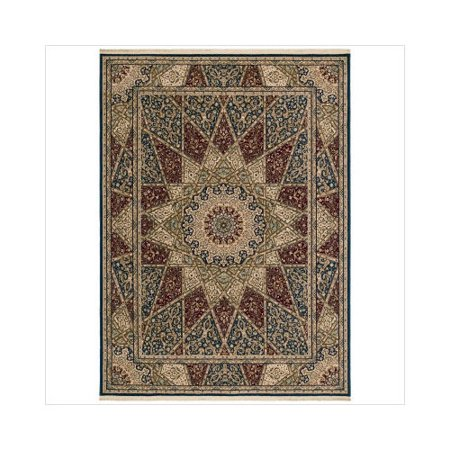 Shaw rugs antiquities mosque medallion multi oriental rug - Shaw rugs discontinued ...