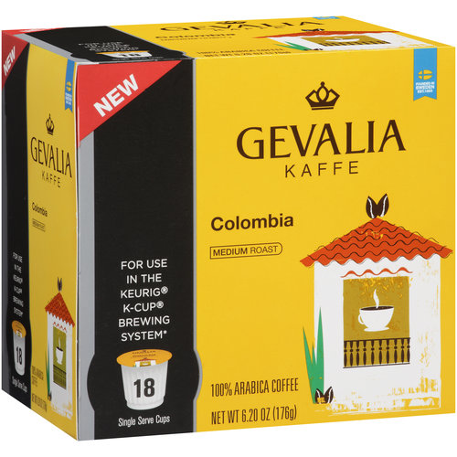 Gevalia Colombian Coffee K-Cup�� Pods 18 ct Box