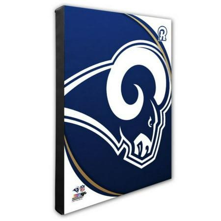 Nfl Hand Signed 16x20 Photograph - Photo File Los Angeles LA Rams Logo Canvas Photo Print Picture Art 16x20 NFL CA