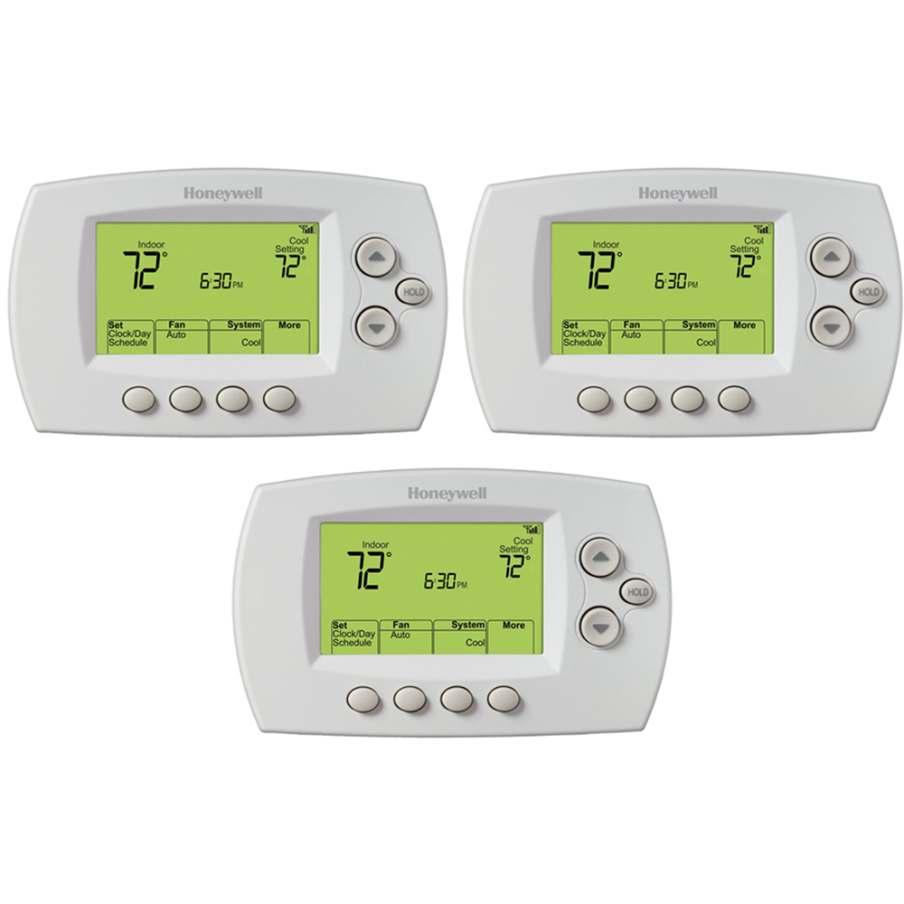Honeywell 7-Day Programmable Thermostat, 3-Pack (RTH6580WF1001/W)