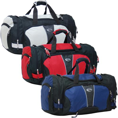 CalPak Field Pak 20-inch Travel Carry On Duffel Bag black/blue