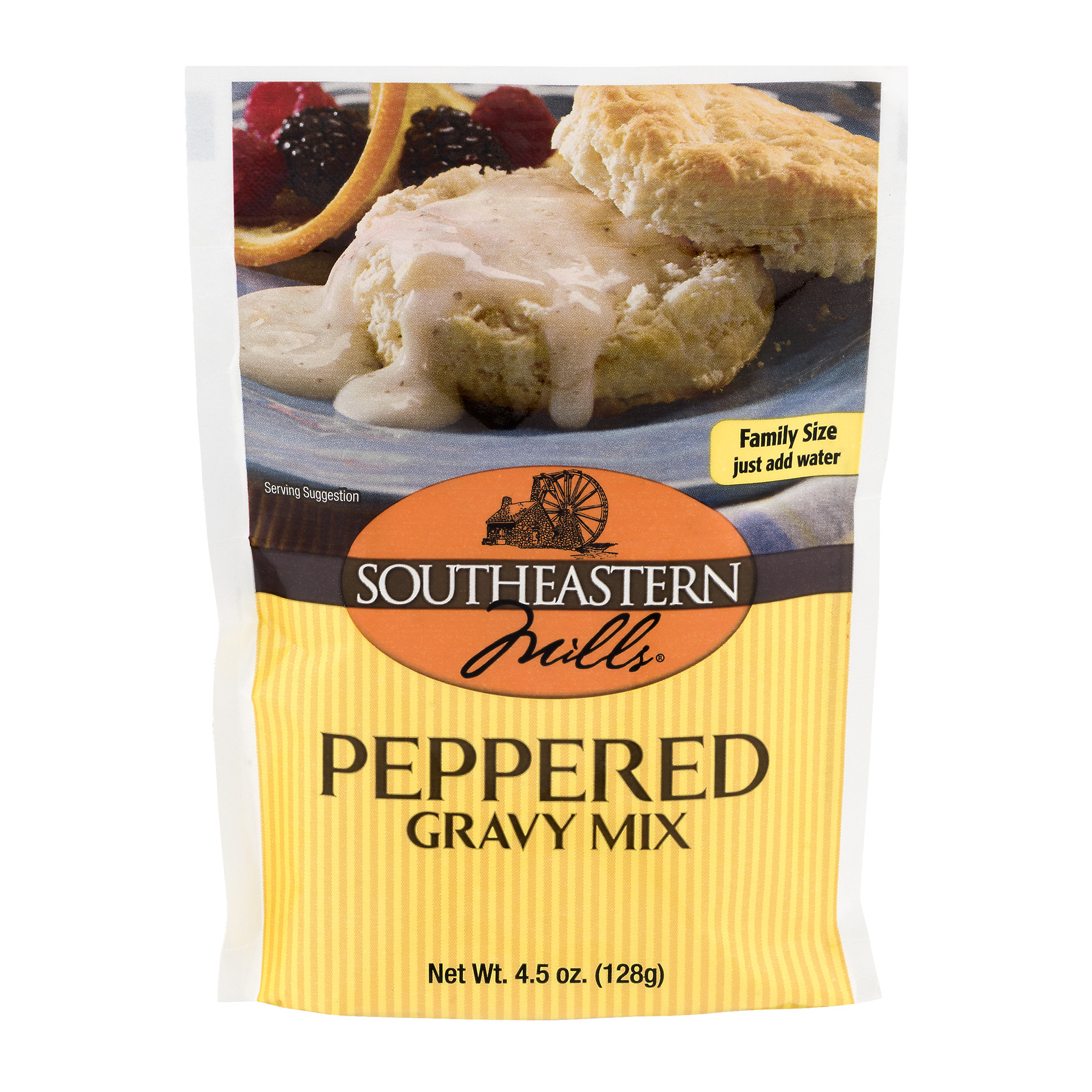 Southeastern Mills Peppered Gravy Mix, 4.5 OZ