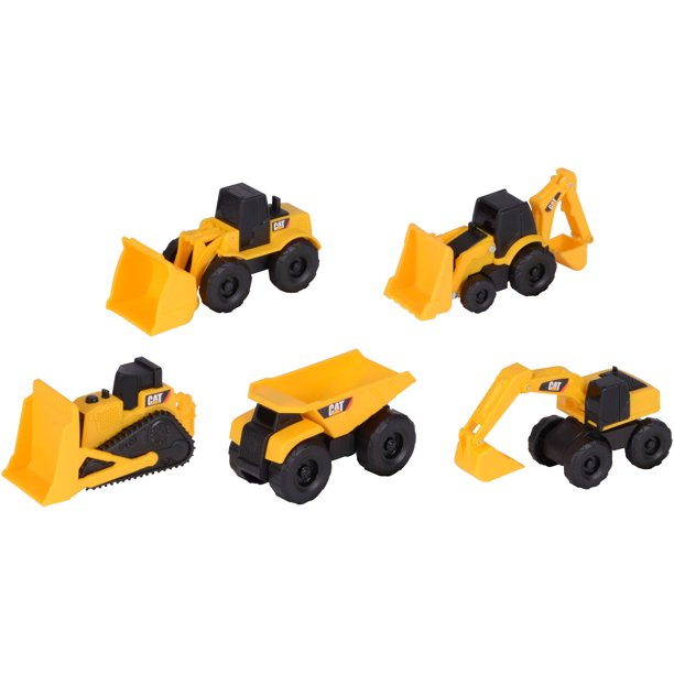 Construction Mini Machines 5 Pack