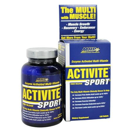 MHP - Activite Sport multi-vitamine enzyme activée Minuté - 120 comprimés