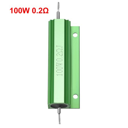 Aluminum Case Resistor 100W 60 Ohm Wirewound Green for LED Replacement Converter - image 2 de 4