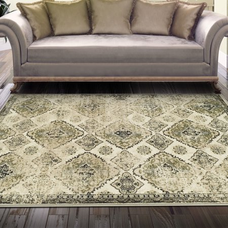 Superior Mayfair Collection with 8mm Pile and Jute Backing, Moisture Resistant and Anti-Static Indoor Area Rug