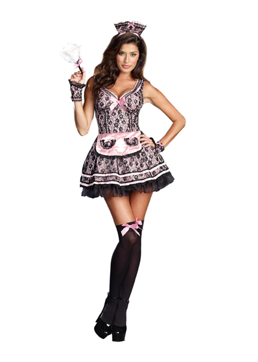 sc 1 st  Walmart : vinyl french maid costume  - Germanpascual.Com