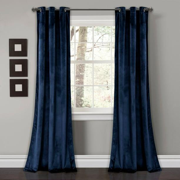 Solid Room Darkening Window Curtain