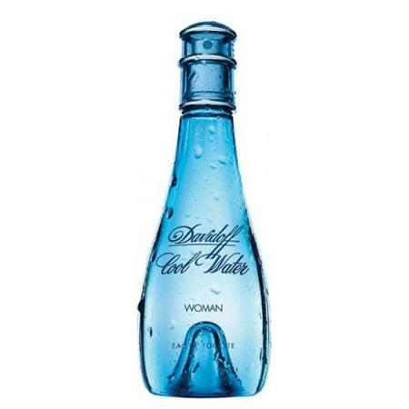 Zino Davidoff Cool Water Eau de Toilette Natural Spray for Women, 3.4 fl (Best Water For Women)