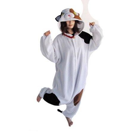 Mascot Tortoiseshell Cat Adult Halloween Costume sz Standard
