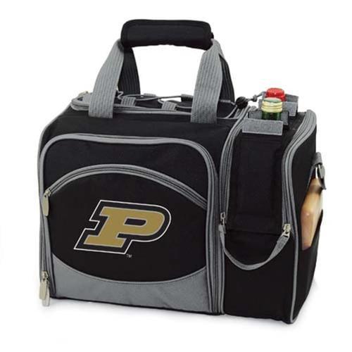 Picnic Time PT-508-23-175-514-0 Purdue Boilermakers Malibu Picnic Cooler in Black