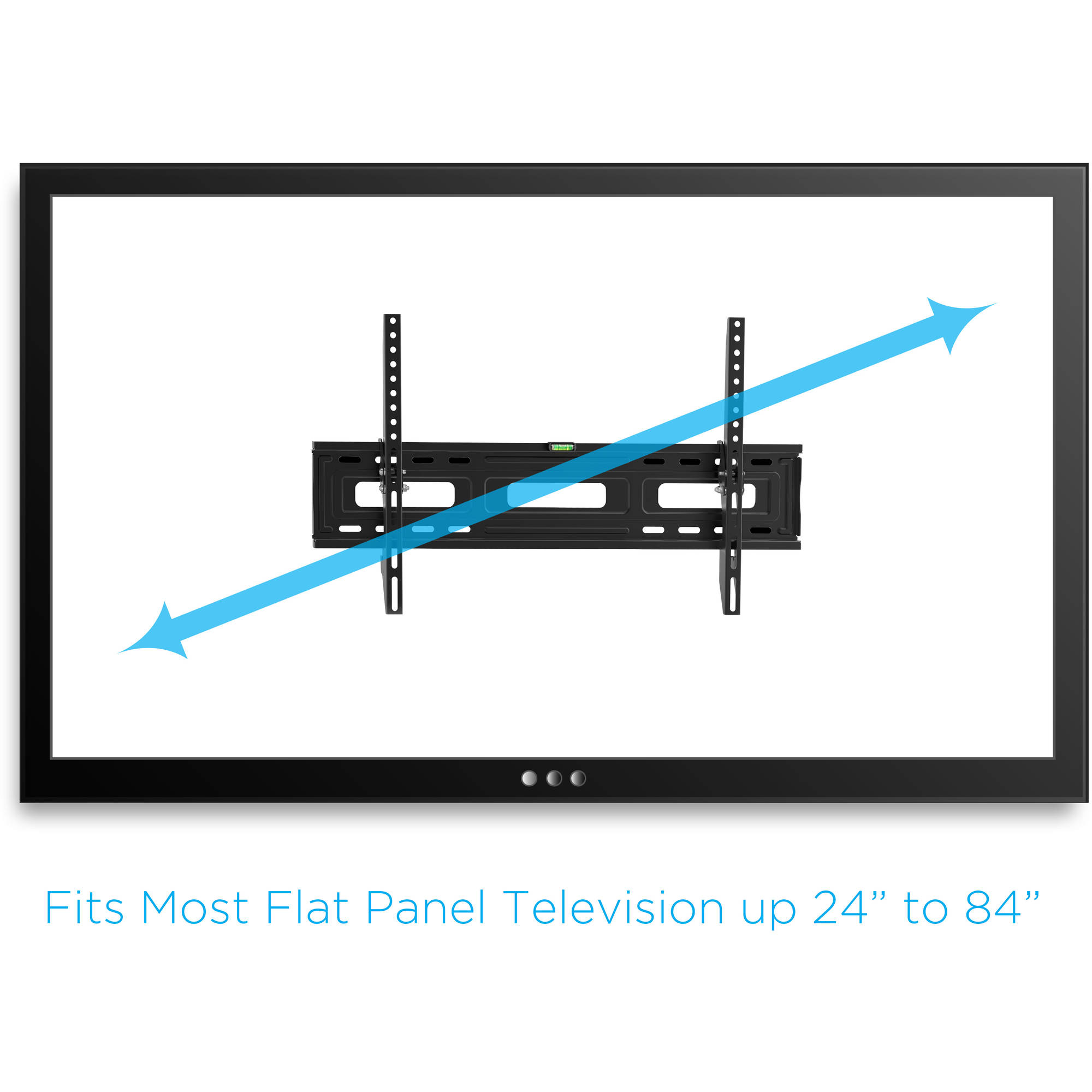 Tilting Tv Wall Mount For 24 84 Tvs With Hdmi Cable Ul Certified Schematic Wiring Diagrams Compared To Quotladderquot