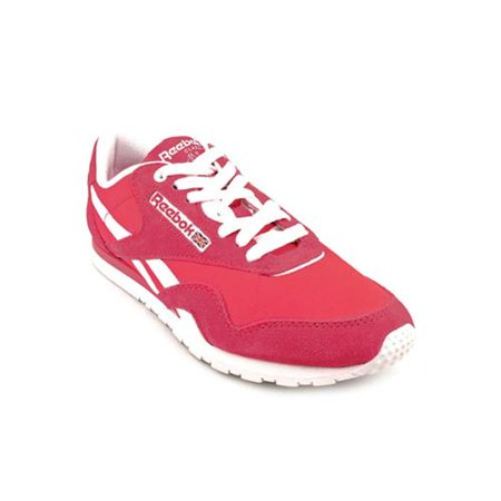 53d1d79b5fb Reebok Classic Womens Size 8 Pink Suede Sneakers Shoes - Walmart.com