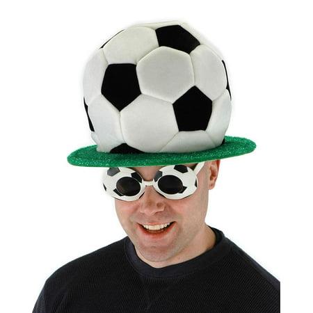 Soccer Ball Plush Costume Hat