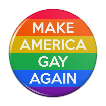 Graphics and More - Make America Gay Again with Rainbow