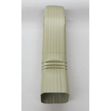 Aluminum Offset Downspout Elbow 3x4 A WICKER