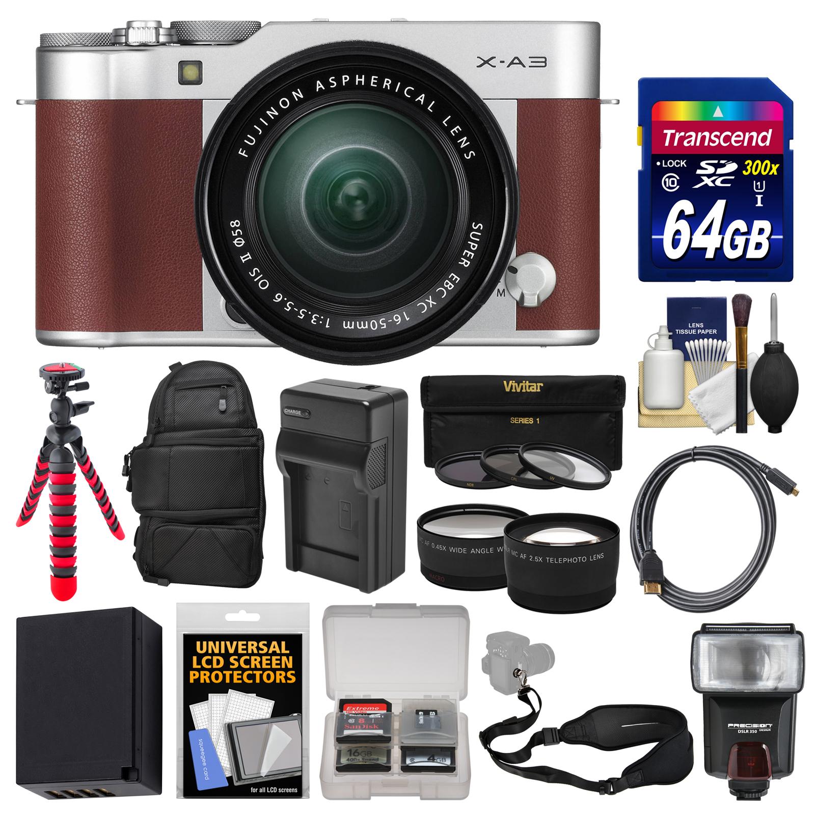 Fujifilm X A3 Wi Fi Digital Camera Amp 16 50mm Ii Xc Lens