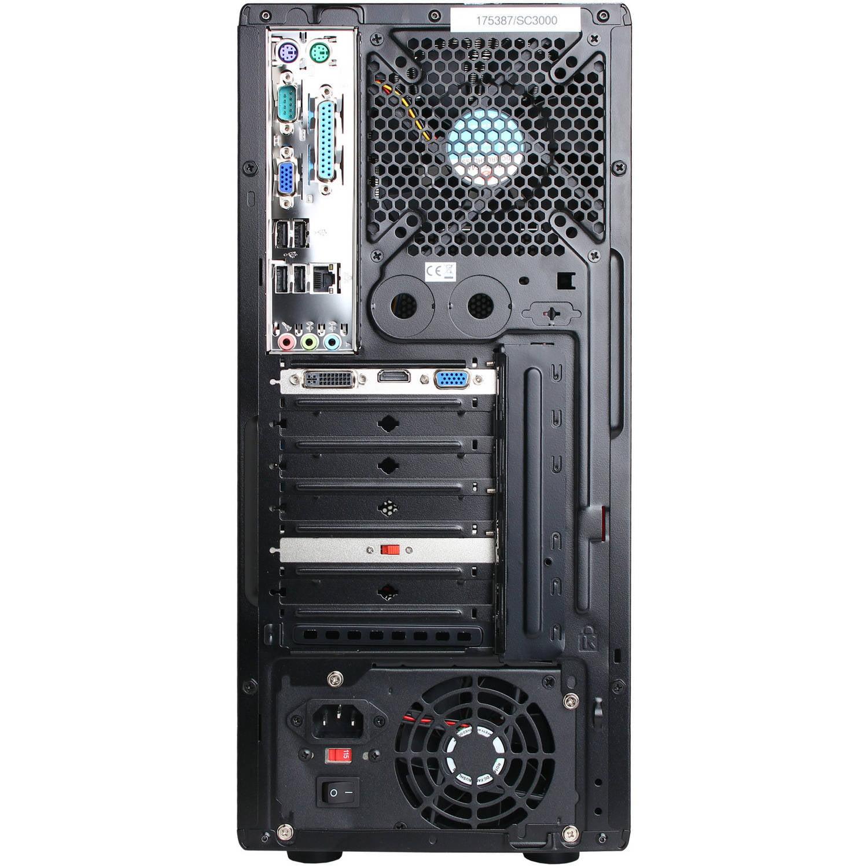 Cyberpowerpc Black Gamer Ultra Gua250 Desktop Pc With Amd Quad Core