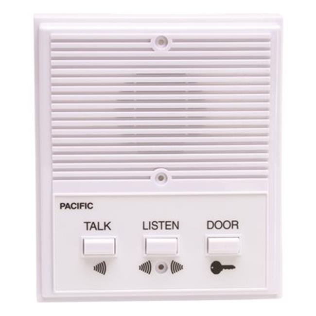3404 Pacific Electronics Single Entrance Intercom System, 4 Wire