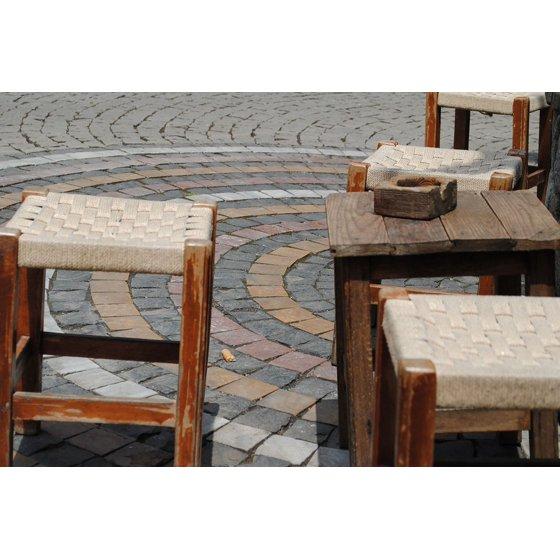 Excellent Canvas Print Lonely Chair Garden Stool Ashtray Tea Wooden Unemploymentrelief Wooden Chair Designs For Living Room Unemploymentrelieforg