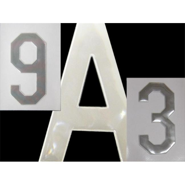Bright Ideas RN1 Reflective sew on Numbers - 3 numbers