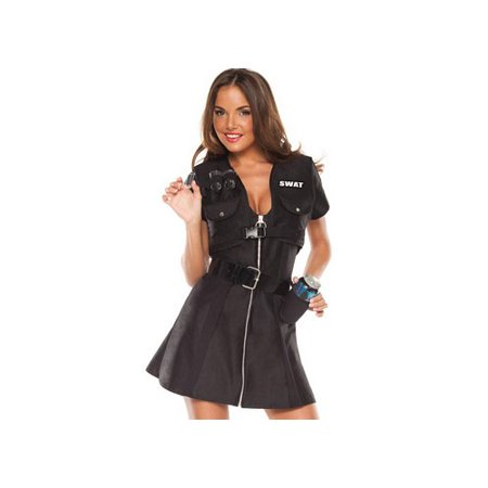 Coquette Swat Shooter Costume Set M6133 Black