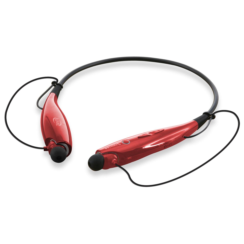 iLive IAEB25B Bluetooth Stereo Headset with Neckband Design, Black