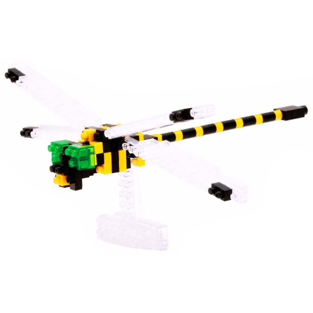 3d Puzzles, Nanoblock Cute And Challenging Dragonfly Jigsaw Puzzles 3d by BY-NANOBLOCK