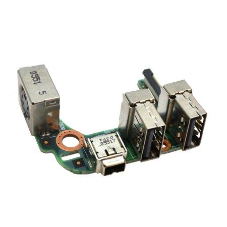 Toshiba Satellite Toshiba V000050500 USB Firewire Board I/O Boards- Video Audio USB IR DC TV PWR - Used Like New (Toshiba Satellite Usb)