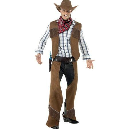 Fringe Cowboy Adult Costume - Medium - Cowboy Costumes For Women