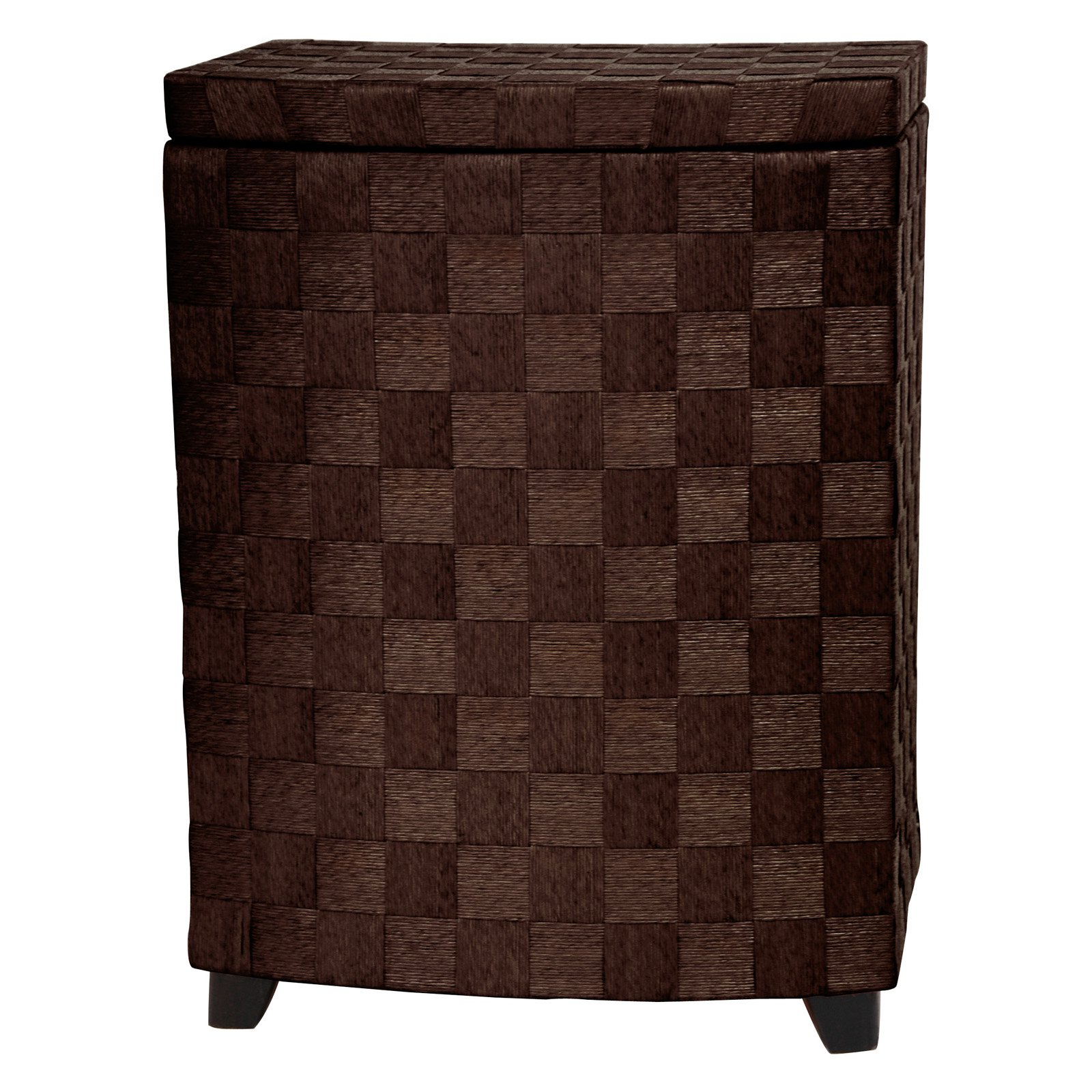 Oriental Furniture Natural Fiber Rectangular Laundry Hamper