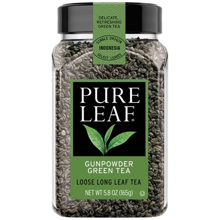 Pure Leaf Hot Gunpowder Green Tea Loose Tea, 5.8 -