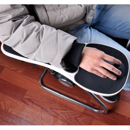 Meigar Home Office Computer Armrest Mouse Mat Arm Rest Wrist Pad Support For Chair Use