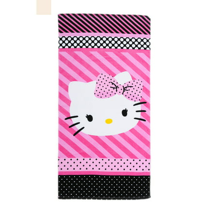 Hello Kitty Dots J'Adore Bath Towel Collection