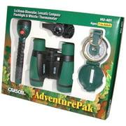 Carson HU-401  AdventurePak HU-401 Binocular  Compass  Flashlight  Whistle  Thermometer