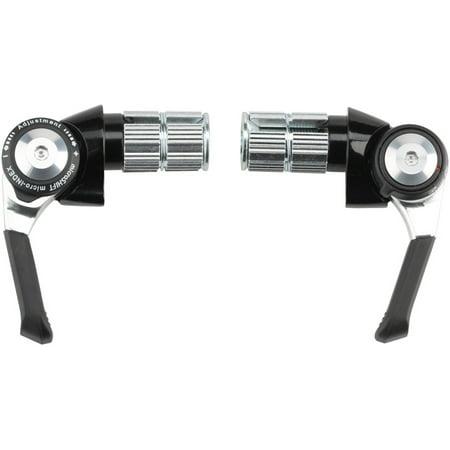 microSHIFT Bar End Shifter Set 8-Speed Road Double/Triple Shimano