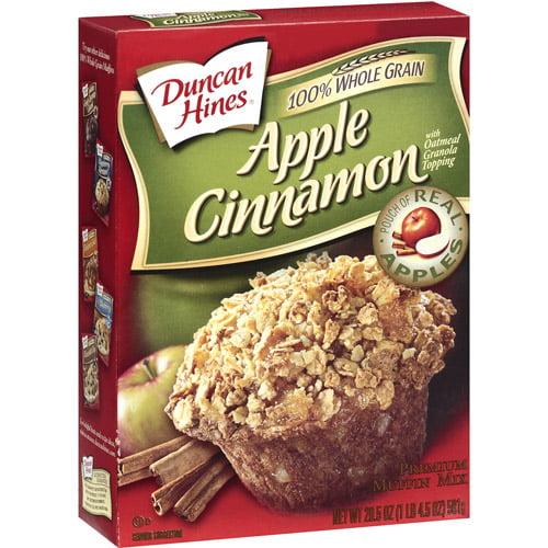 Duncan Hines Apple Cinnamon Premium Muffin Mix, 20.5 oz
