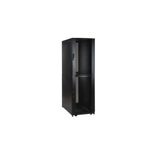 Tripp Lite - SR48UBCL - Tripp Lite 48U Rack Enclosure Server Cabinet Co-Location w/ Doors & Sides - Rack enclosure