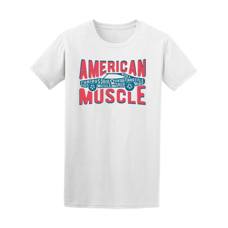 7ef31794 Teeblox - Car American Muscle Tee Men's -Image by Shutterstock - Walmart.com