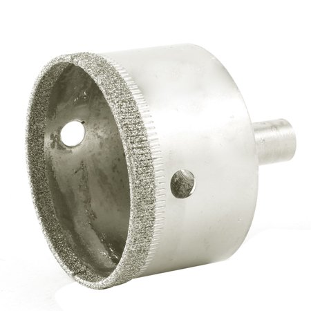 50mm Dia Diamond Coated Marble Glass Hole Saw Cutter 56mm Long Silver (Fuji 50mm F2 Vs 56mm F1 2)