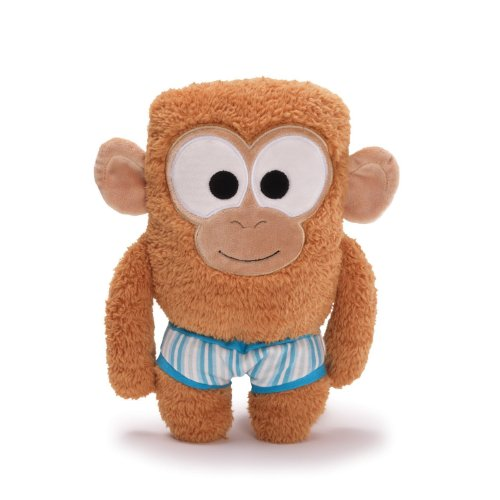 "Gund Bear in Underwear - Monkey 9"" Plush"