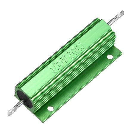 Aluminum Case Resistor 100W 20K Ohm Wirewound for LED Replacement Converter - image 4 of 4
