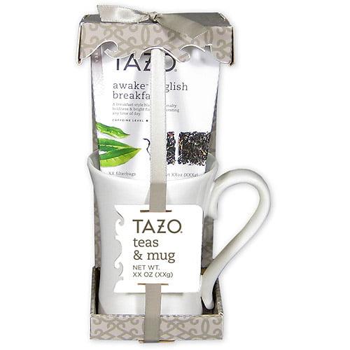 Tazo Tea with Mug, 2 pc (Tea Flavor Will Vary)
