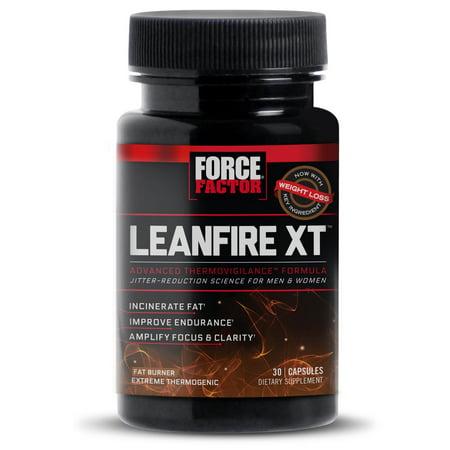 Force Factor LeanFire métabolisme XT Booster pilules de perte de poids 30 Ct