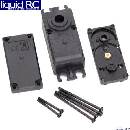 Traxxas 2251 Servo Case - Plastic (Top - Middle - Bottom)/ Gaskets/ Hardware (Servo Hardware)