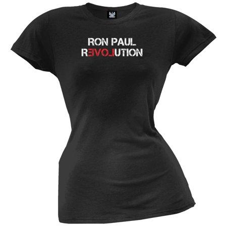 Ron Paul - Revolution Juniors T-Shirt (Ron Paul Revolution T-shirt)
